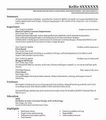 Top Costume Design (Art, Fashion And Design) Resume
