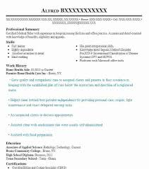 Home Health Aide Resume Enchanting Home Health Aide Resume Aide Resume Entry Home Health Care Resume