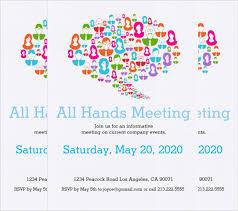 Format Invitation Card 21 Meeting Invitation Templates Psd Word Ai Indesign Free
