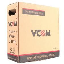 <b>Кабель</b> FTP <b>VCOM</b> VNC1010 FTP 5e 100 метров — купить, цена и ...