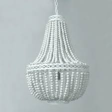 wood bead pendant light white wood bead chandelier vintage retro white wooden bead pendant lights loft wood bead