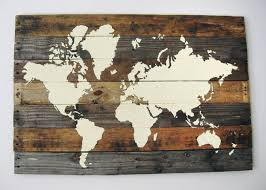 pallet ideas for walls. make a world map from recycled pallets to decorate your home. pallet ideas for walls