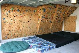 building a rock climbing wall diy portable kid