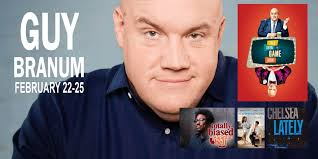 guy branum is the creator and host for the new trutv show talk show the game show which is gearing up for its second season and he is wrapping up his work