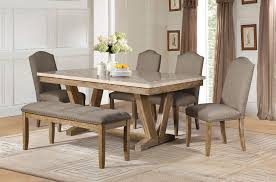 Home Elegance Jemez Weathered Dining Table The Classy Home