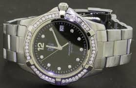 Details About Tag Heuer Aquaracer Waf1110 1 04ct Vs Factory Diamond Quartz Mens Watch W B P