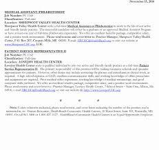 Cover Letterist Certified Technician Sample Hospital Phlebotomist