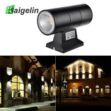 2018 kaigelin 6w 220v porch lights outdoor waterproof led wall lamp cob aluminum exterior wall light outdoor garden street lighting from mikety
