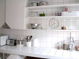 kitchen 7 white ceramic tile countertop three fashionable and inexpensive countertop solutions for your home