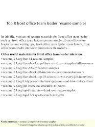 interview questions team leader team leader cover letter example interview questions team leader