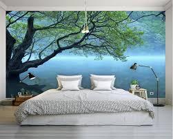 Beibehang Nach Foto Tapete Moderne 3d Tapete Baum Landschaft Kunst
