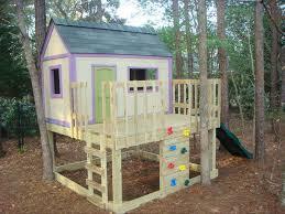diy playhouse plans free luxury 13 free playhouse plans the kids will love