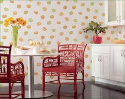 Polkadot Kitchen Wallpaper With Lemon Decoration Redecorating Kitchen With  Wallpaper Ideas Kitchen