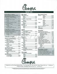 Chick Fil Nutrition Facts Chart Thorough Chemistry Chart Ideas For Class 11 2019