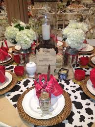 Western Themed Table