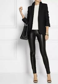 details about the row leather moto leggings medium