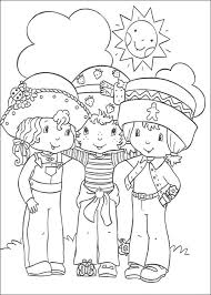 Small Picture Free Printable Strawberry Shortcake Coloring Pages For Kids