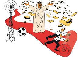 """Résultat de recherche d'images pour """"L'argent du qatar pue"""""""