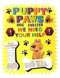 Fundraiser Poster Ideas Make An Animal Shleter Poster Animal Shelter Fundraiser Poster