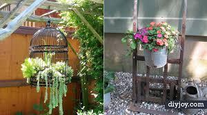 34 upcycled garden art ideas