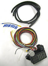 other electric vehicle parts new universal 8 circuit wire wiring harness street rat hot rod basic starter kit