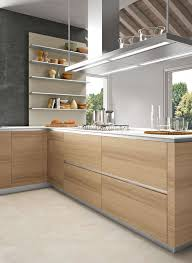 cool kitchen designs. clean lines and the warmth of timber - very cool. orange kitchen designsmodern cool designs