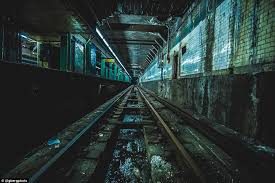 empty subway tunnel. Beautiful Tunnel Gregory Berg A 21yearold Photographer In New York City Regularly Inside Empty Subway Tunnel U