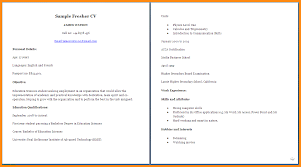 9 How To Make A Cv For Students Points Of Origins