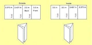 Quad Fold Brochure Template Word Z Fold Brochure Template Word