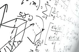complex of math formulas on whiteboard stock photo ac equation symbols word latex example