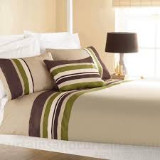Lime Green Bedroom Curtains Yale Lime Green Brown Striped Print Duvet Cover Stripes Duvet