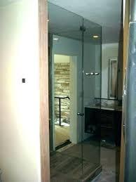 types of shower door glass doors seals