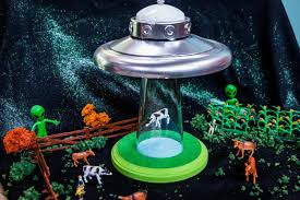Diy Alien Abduction Lamp Home Family Hallmark Channel