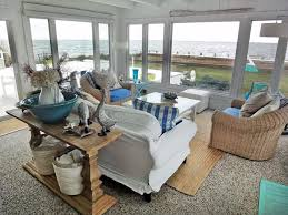 coastal chic furniture. The Inspiration For This Cosy Sunroom Was Drawn From Its Surroundings And Tranquil Views. Staying With Neutral Shabby Chic Tones, White, Cream Blue Coastal Furniture C