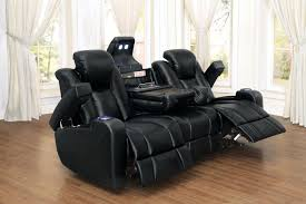 tony home theatre collection led lighting cup holders adjule headrest storage console power reclining sofa loveseat set