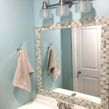 mosaic tile mirror tile framed mirror photo 2 of 7 best ideas about tile mirror frames