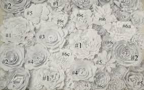 Flower Wall Diy Paper Flower Wall Posh Tart