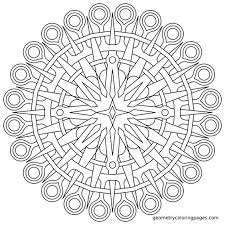 Small Picture Coloring Pages For Anxiety Free Large Mandala Coloring Page