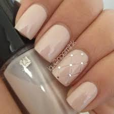 gel nail designs for fall 2014. nude nails \u0026 a quilted accent nail design. gel designs for fall 2014 .
