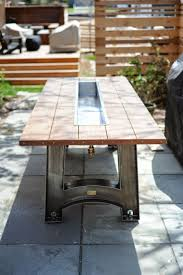Table With Drink Trough 20 Best Building Projects Images On Pinterest Outdoor Tables