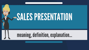 Image result for meaning of a presentation