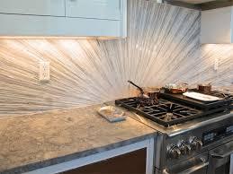 Glass Kitchen Backsplash Kitchen Backsplash Green Mosaic Glass Backsplash And Marble For