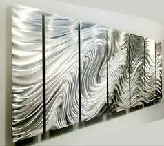 massive 96 36 metal wall art panels