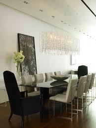 contemporary dining room light dining room modern chandelier chuck nicklin