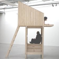 furniture architecture. thai graduate designer worapong manupipatpong has created an installation that is halfway between furniture and architecture e
