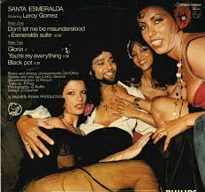 Santa Esmeralda Starring Leroy Gomez ‎– Don't Let Me Be Misunderstood LP  VG++