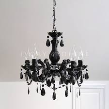 grace marie therese 5 light chandelier black x 3