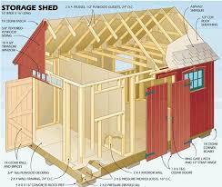 Small Picture 12 x 16 storage shed plans Sheds Pinterest Storage