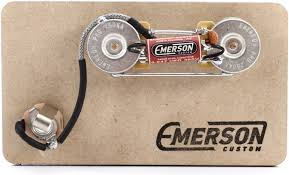 emerson custom prewired kit for precision bass sweetwater emerson custom prewired kit for precision bass image 1