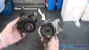 serpentine belt tensioner. how serpentine belt tensioners work tensioner s